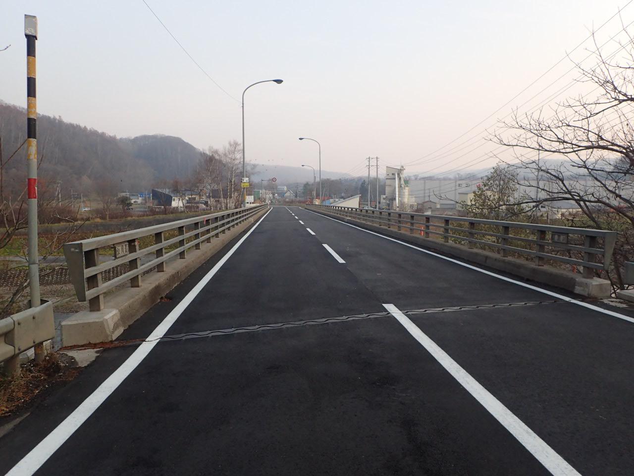 一般国道276号 喜茂別町 相川橋補修外一連工事