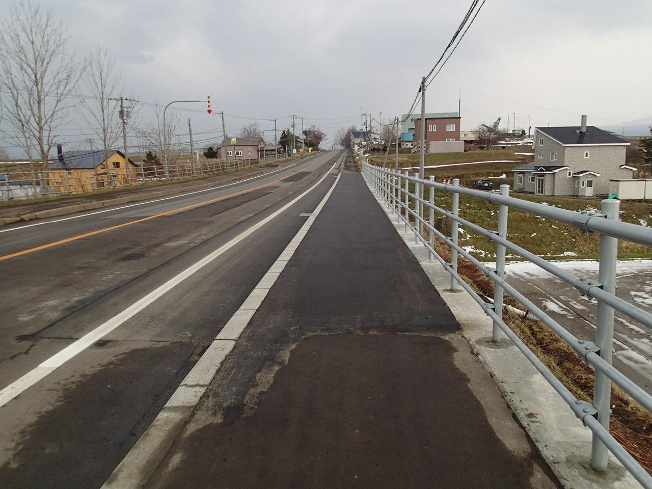 一般国道276号 共和町宇治山 橋補修外一連工事